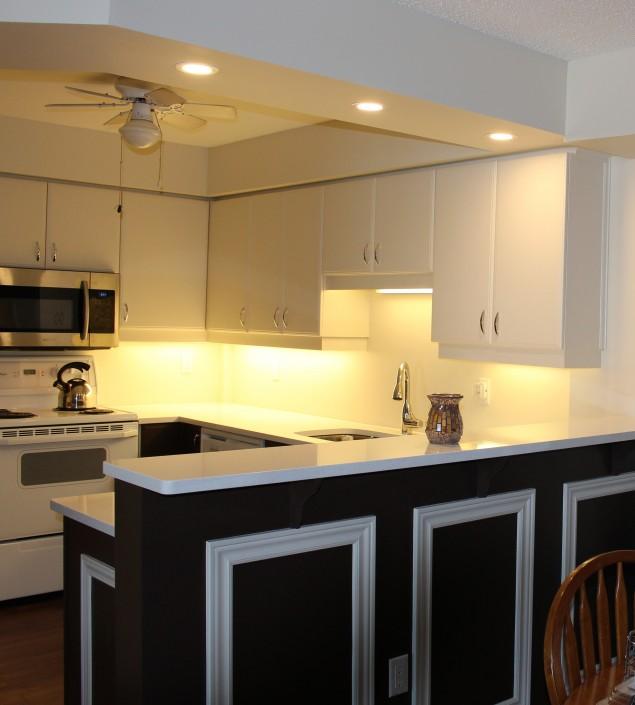 Synergy3 Construction Ottawa Kitchen Renovation, Clean Modern Kitchen, Countertops, Backsplash