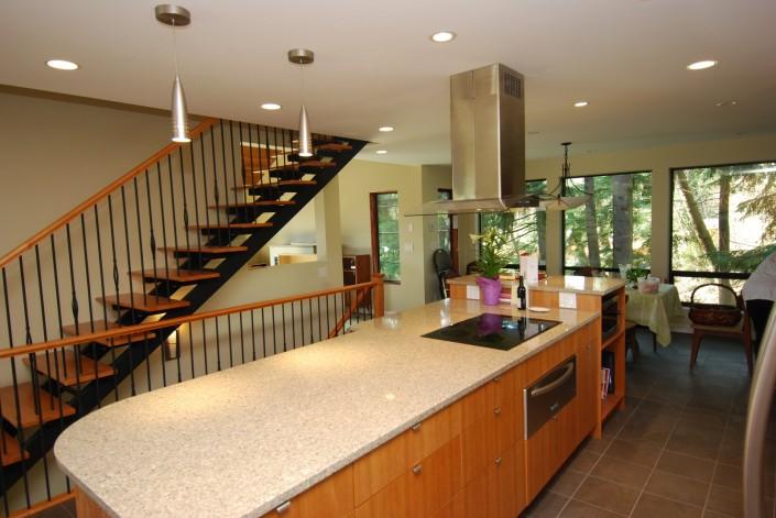 Synergy3 Construction Ottawa Custom Kitchen Renovator, Granite Countertops, Tile Flooring, Beautiful Custom Design