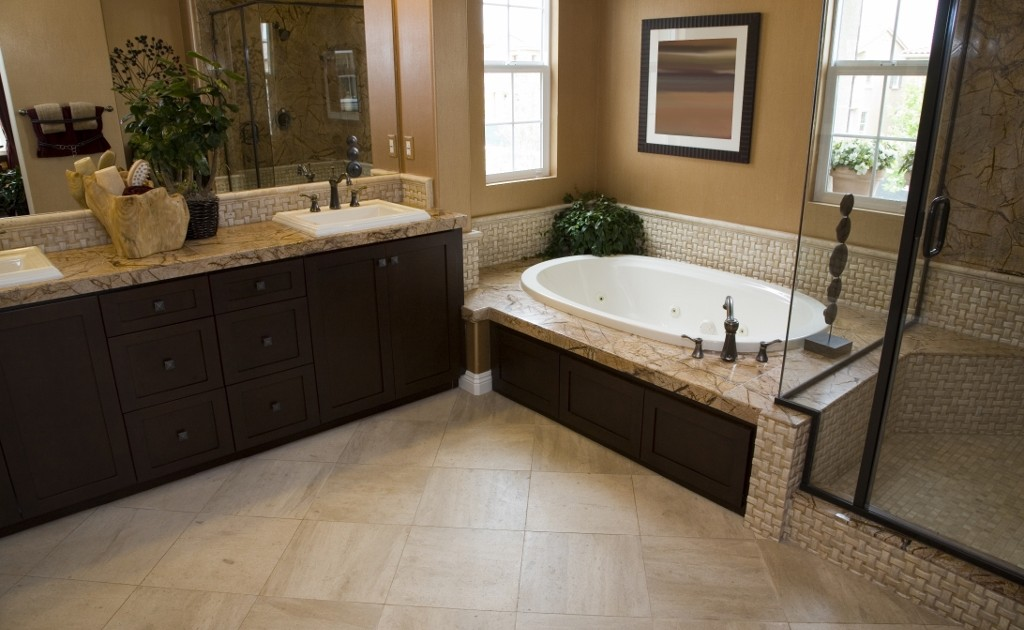 Synergy3 Construction Ottawa Bathroom Flooring Bathroom Renovation Counters Backsplash Molding