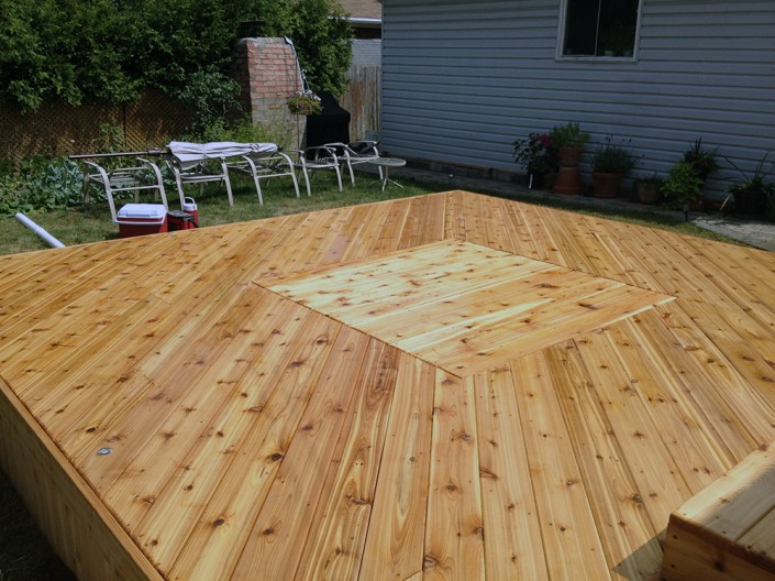 Synergy3 Construction Ottawa Pressure Treated Deck Orleans