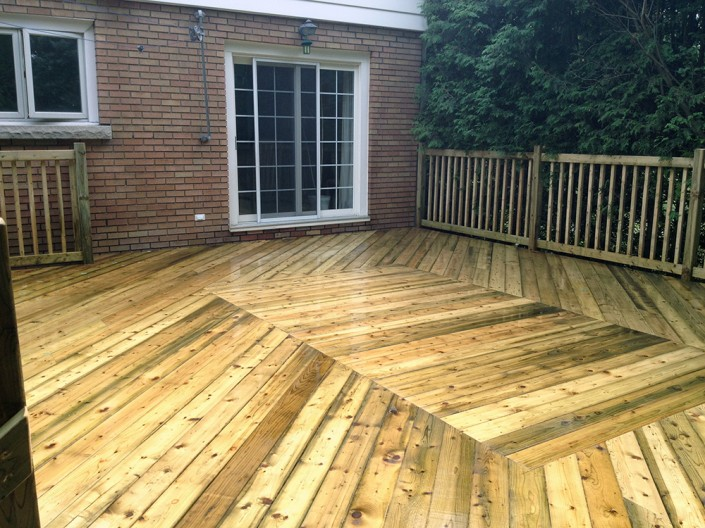 Synergy3 Construction Ottawa Pressure Treated Deck Nepean