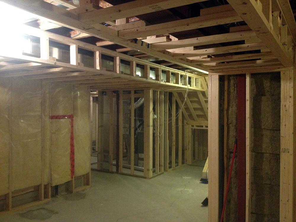 Ottawa basement renovations basement finishing by for Basement construction