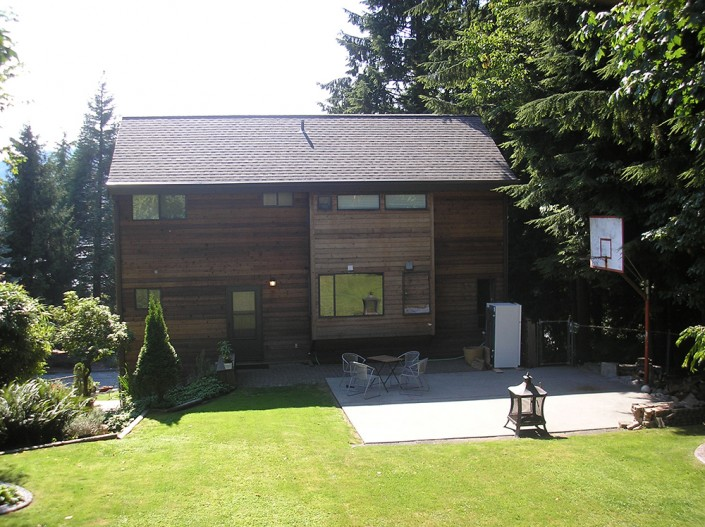 Synergy3 Construction Ottawa Home Finishing, Outdoor Wood Paneling, Backyard Renovation