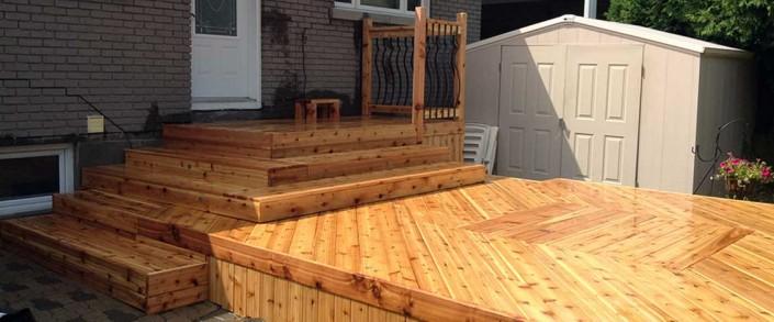 Synergy3 Construction Ottawa Custom Decks Wood Patio Backyard