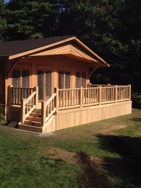 Synergy3 Construction Ottawa Custom Wood Decks Kanata