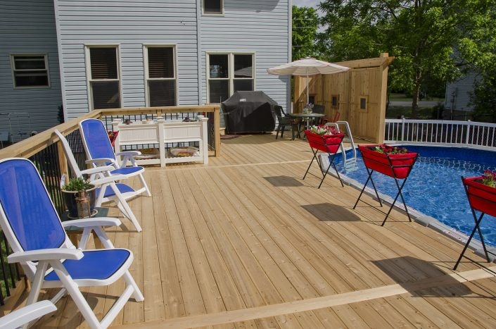 Synergy3 Construction Ottawa Custom Poolside Decks Kanata