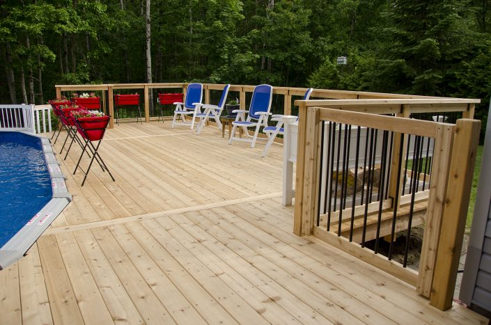 Synergy3 Construction Ottawa Custom Poolside Decks Kanata 3