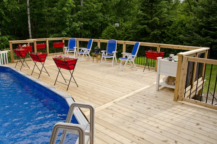 Synergy3 Construction Ottawa Custom Poolside Decks Kanata 2